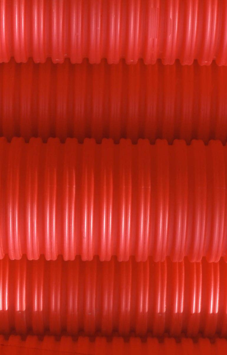Tubos rojos