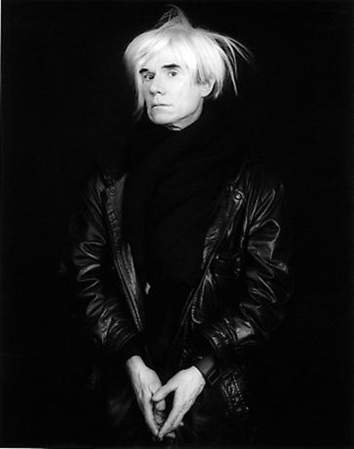 Andy Warhol-1986, Robert Mapplethorpe
