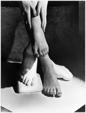 Belleza desnuda del pie 1941-Horst P Horst