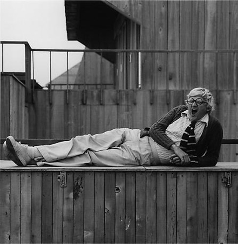 David Hockney-1976-Robert Mapplethorpe