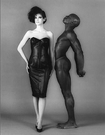 Jill Chapman and Ken Moody, 1983, Robert Mapplethorpe