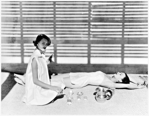 Moda baño-Bombay-1950-Horst P Horst