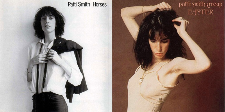 Patti Smith-covers by Robert Mapplethorpe