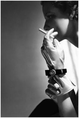 Reloj de pulsera de diamantes, 1935-Horst P Horst