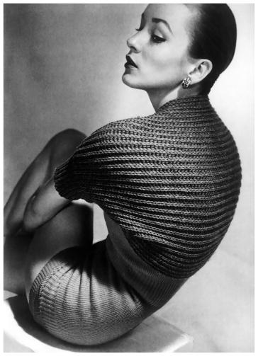 Tina Lester para Vogue abril 1950, Horst-P-Horst