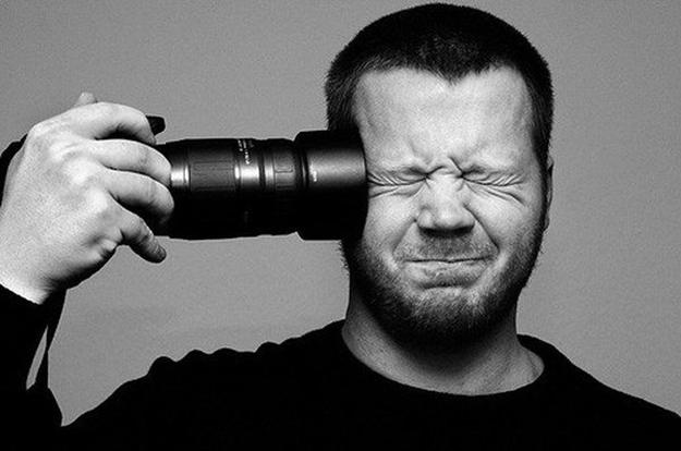 Fotógrafo desesperado