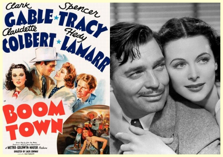 BOOM TOWN, 1940, Jack Conway