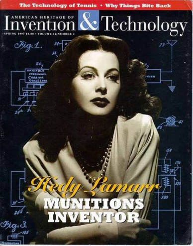 HEDY LAMARR-portada INVENTION&TECHNOLOGY
