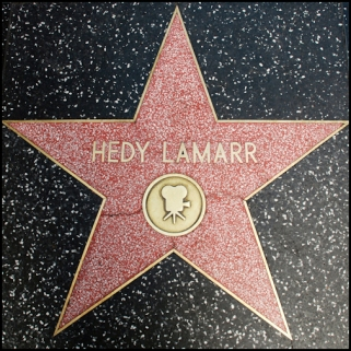 Hedy Lamarr Hollywood Walk of Fame