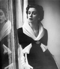 Henry Clarke, Suzy Parker in Givenchy, 1952-53