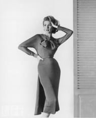 Suzy Parker, 1950's