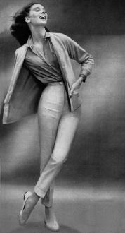 Suzy Parker vestida por John Weitz-1957-Richard Avedon